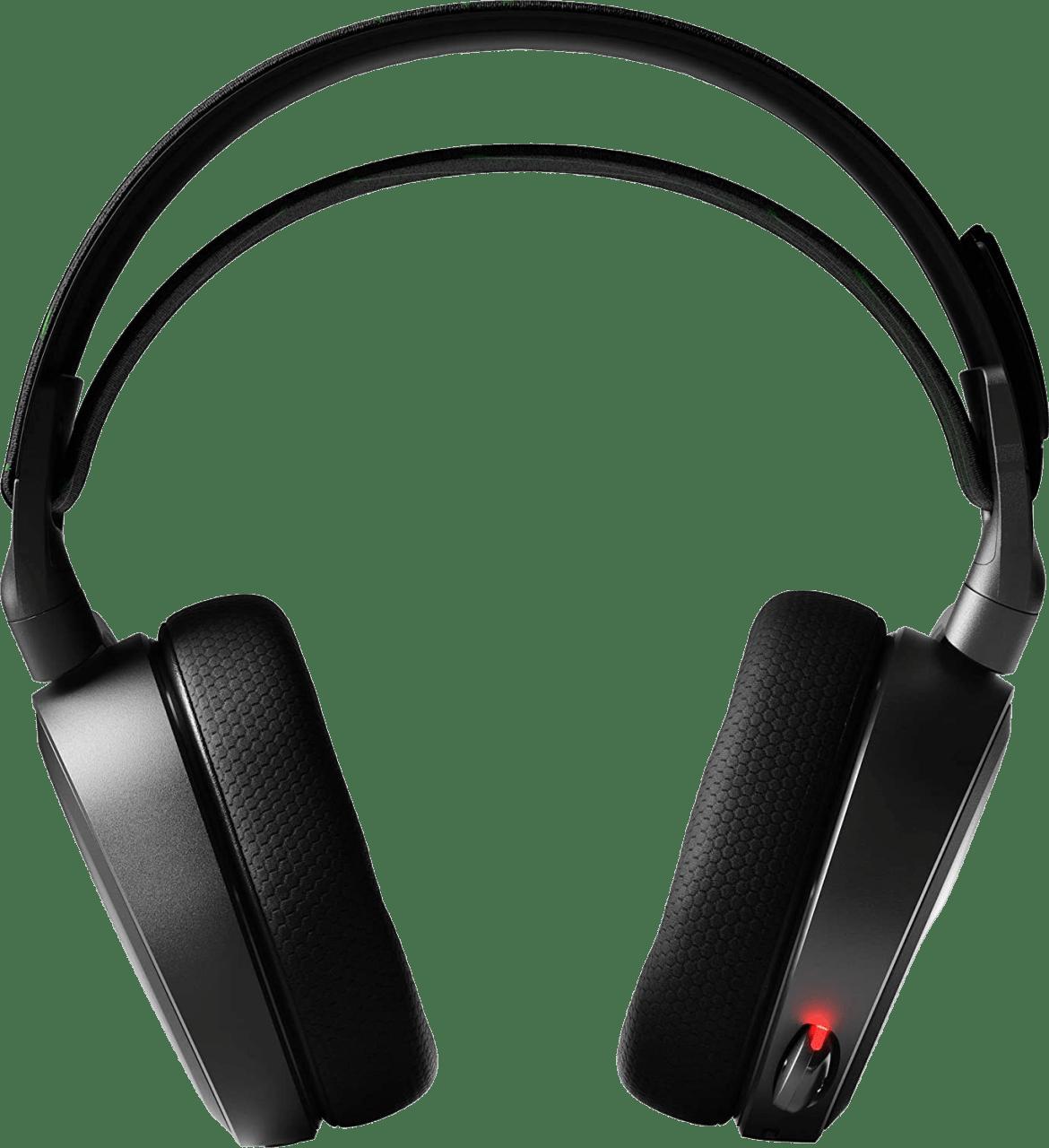 Schwarz Steelseries Arctis 9X Over-Ear-Gaming-Kopfhörer.4