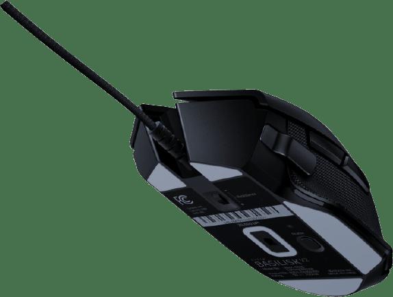 Schwarz Razer Basilisk V2 Mouse.3
