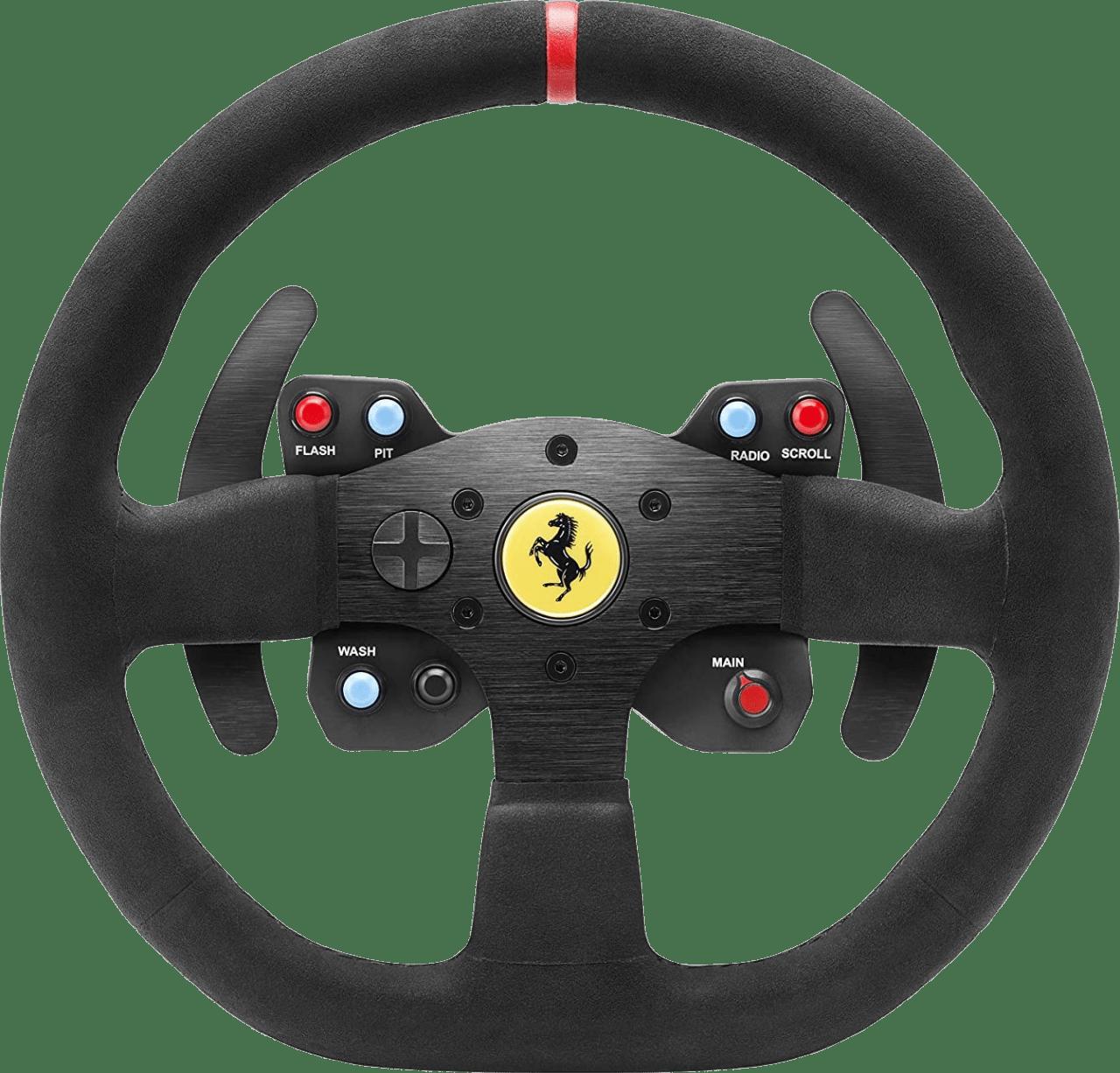 Black Thrustmaster T300 Ferrari Racing Steering Wheel.2