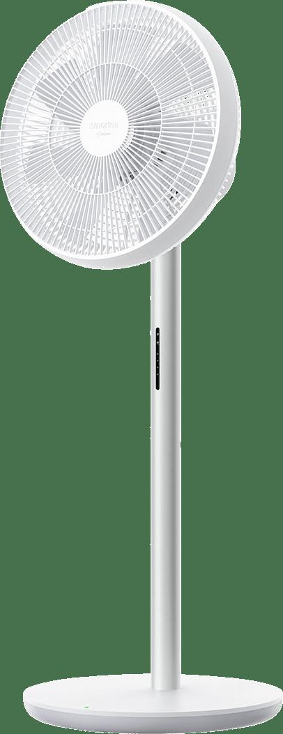 White Xiaomi Smartmi Pedestal Fan 3.1