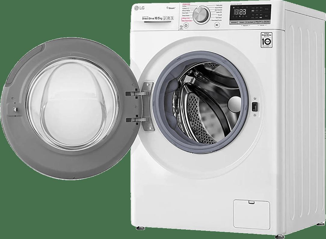 White LG Washing Machine F4WV510S0E.3