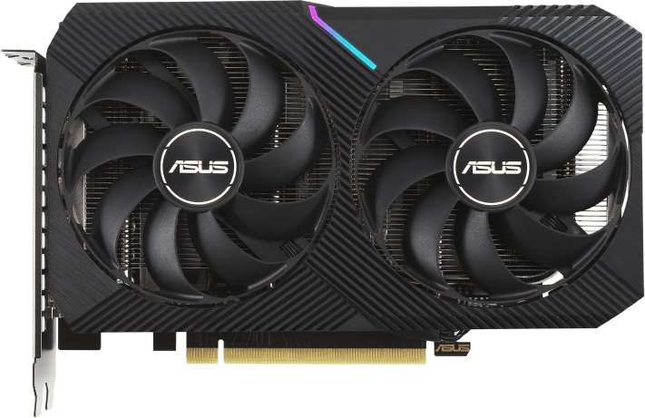 Negro Asus GeForce RTX™ 3060 Dual 12G Graphics Card.1