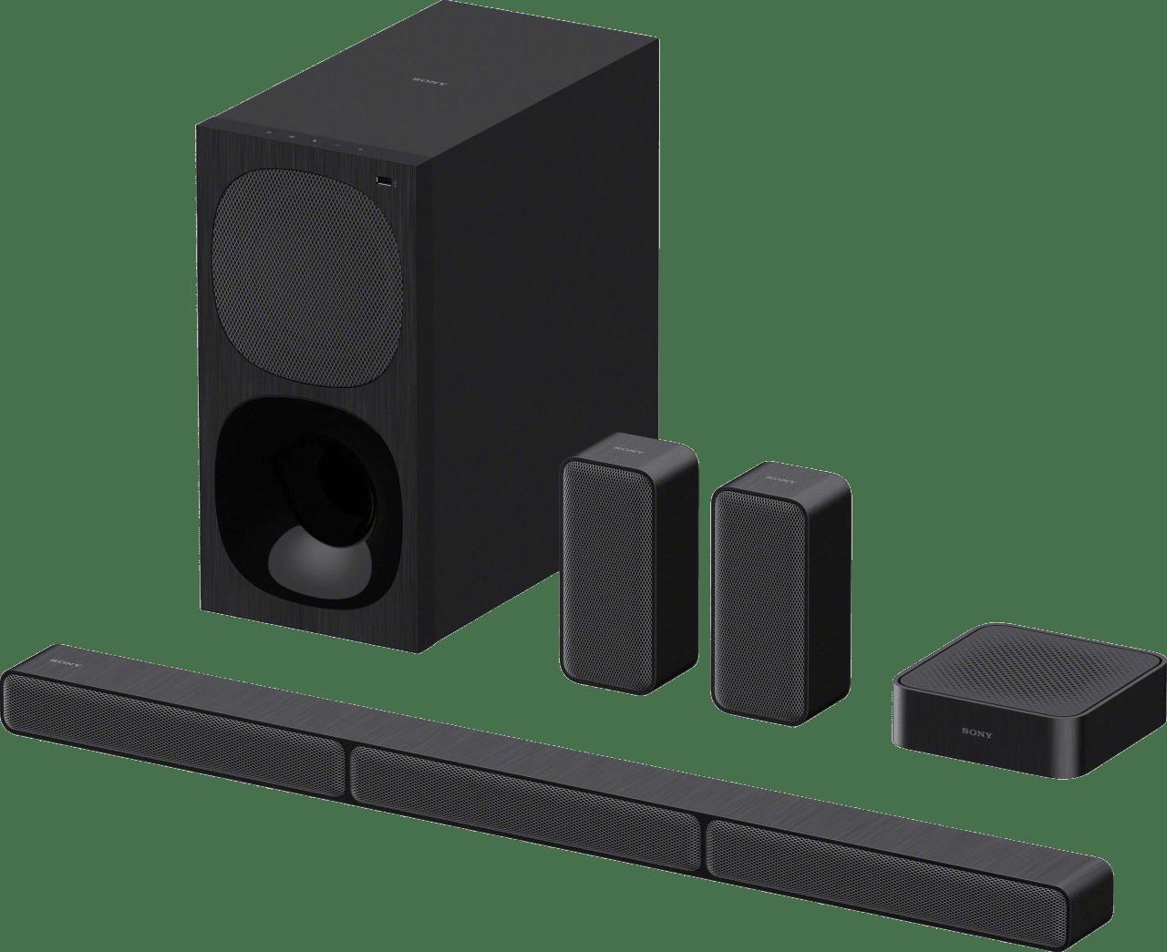 Schwarz Sony HT-S40R.1