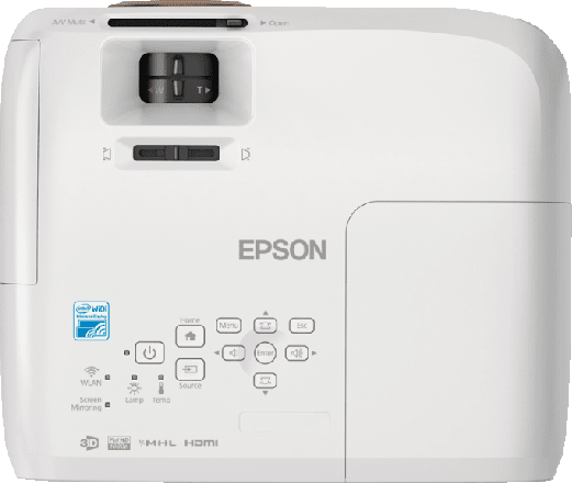 white Epson EH-TW5350 LCD .2