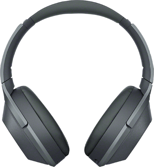 Black Sony WH-1000 XM2B Noise-cancelling Over-ear Bluetooth Headphones.1