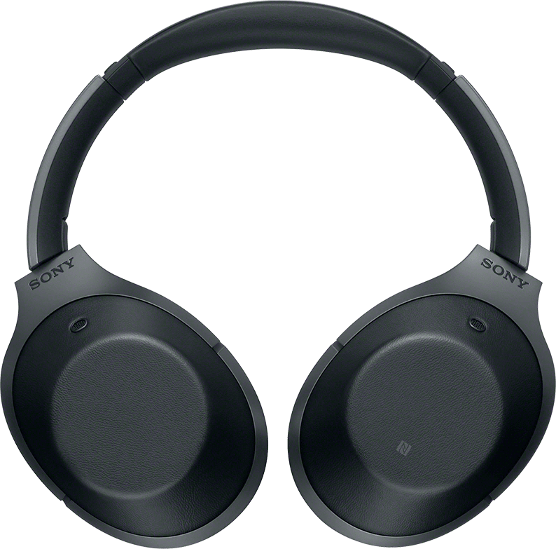 Black Sony WH-1000 XM2B Noise-cancelling Over-ear Bluetooth Headphones.3