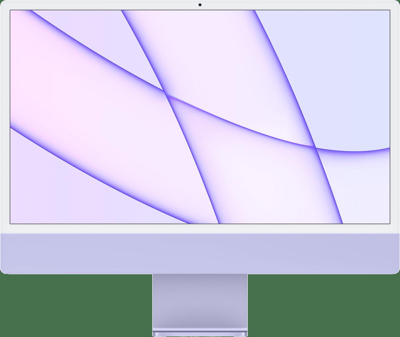 "Purple Apple 24"" iMac (Mid 2021) All-in-One - Apple M1 - 8GB - 512GB SSD - Apple Integrated 8-core GPU.1"