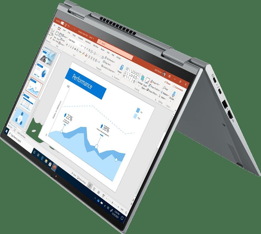 Iron Grey Lenovo ThinkPad X1 Yoga G6 4G LTE Convertible - Intel® Core™ i5-1135G7 - 16GB - 512GB SSD - Intel® Iris® Xe Graphics.1