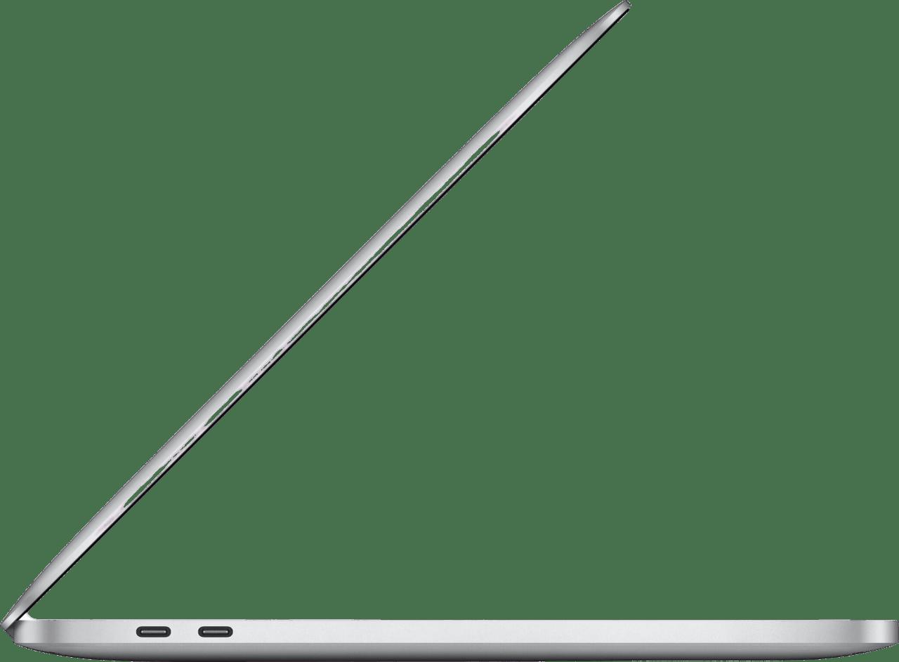 "Silver Apple 13"" MacBook Pro (Late 2020) - English (QWERTY) Laptop - Apple M1 - 16GB - 512GB SSD - Apple Integrated 8-core GPU.4"