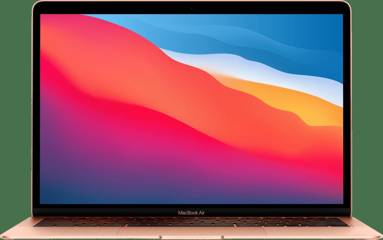 Gold Apple MacBook Air (Late 2020) - English (QWERTY) Laptop - Apple M1 - 16GB - 512GB SSD - Apple Integrated 8-core GPU.1