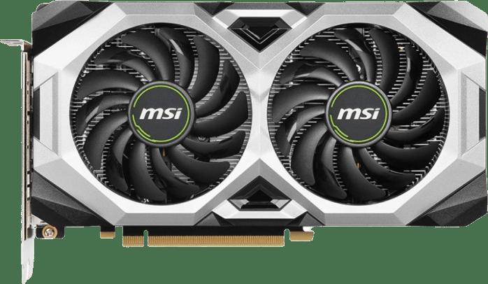 Black MSI GeForce RTX™ 2060 Ventus GP 6G OC Tarjeta gráfica.1
