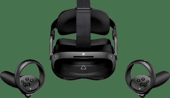 Black HTC Vive Focus 3 - Business Edition Virtual Reality Headset.2