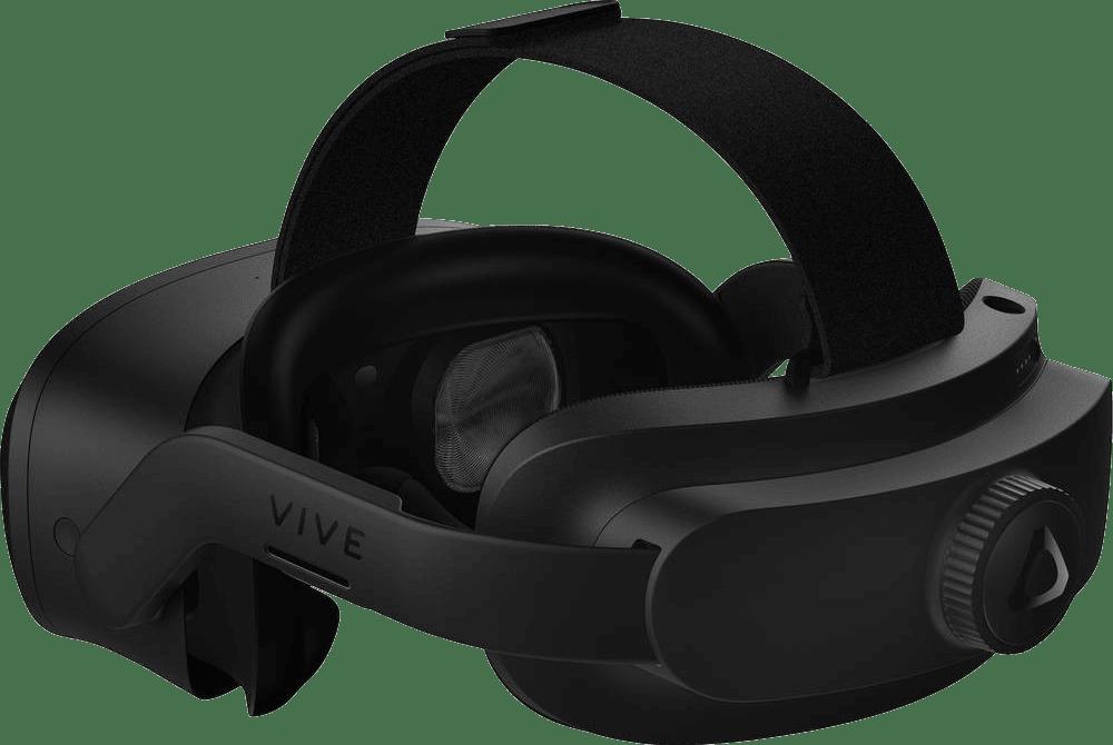 Black HTC Vive Focus 3 - Business Edition Virtual Reality Headset.4