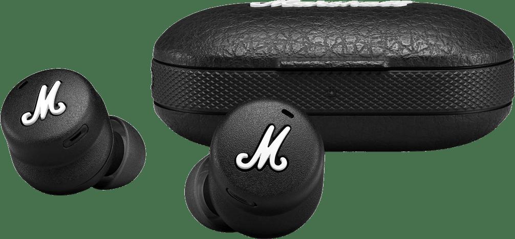Black Headphones Marshall Mode II In-ear Bluetooth Headphones.3