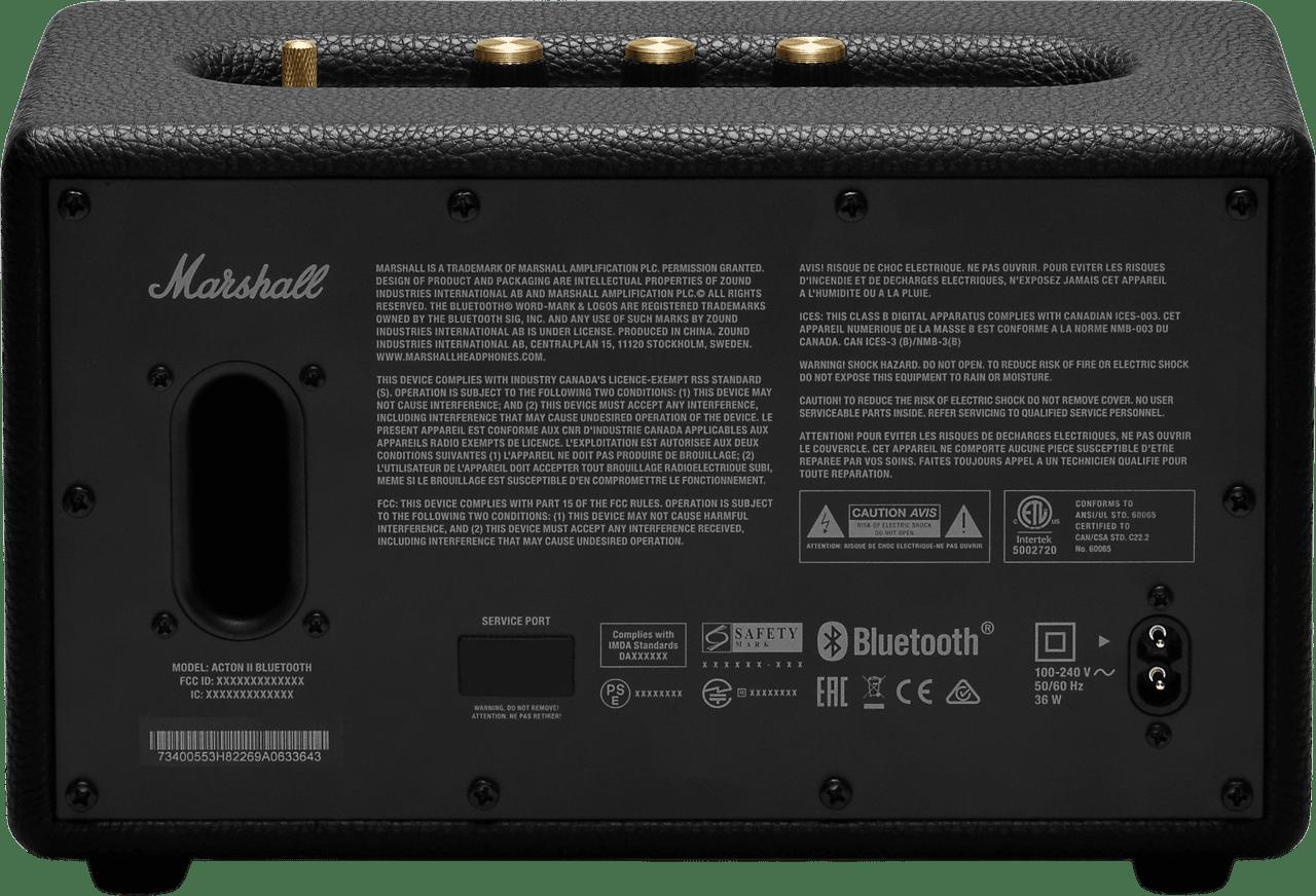 Black Hi-Fi Audio Marshall Acton II BT Bluetooth Speaker.4