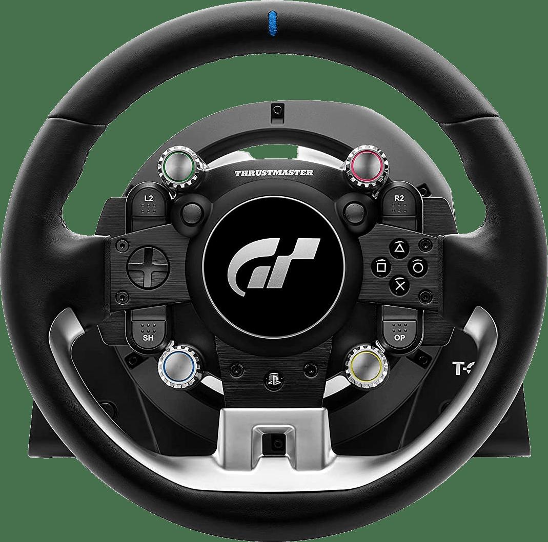 Zwart Thrustmaster T-GT II Racing Stuur + 3 pedaalset.3