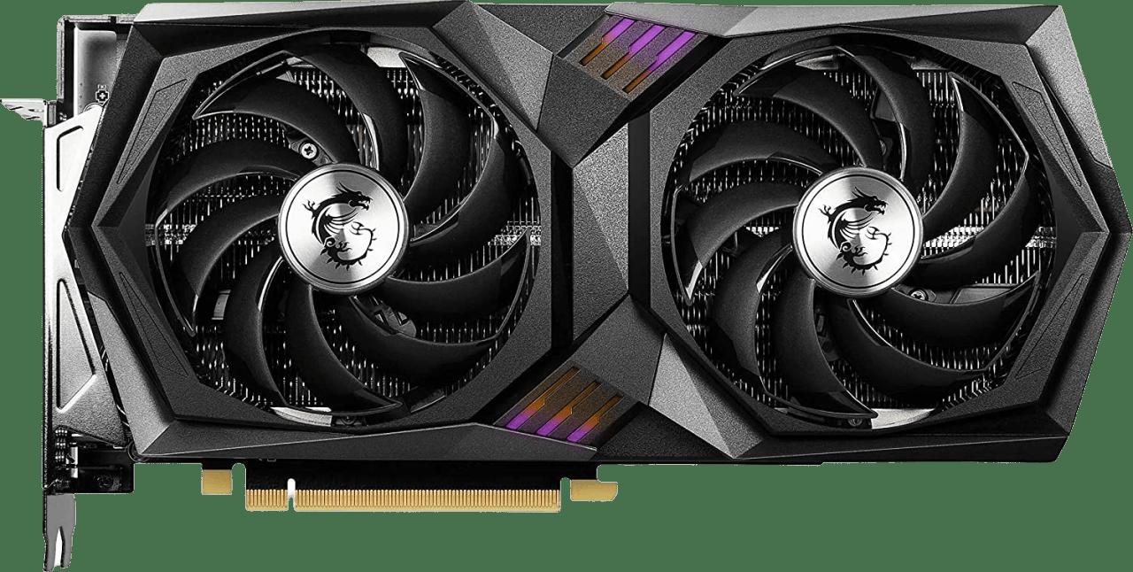 Schwarz MSI GeForce RTX™ 3060 Gaming X 12G Grafikkarte.1