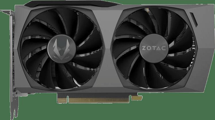 Black ZOTAC GeForce RTX 3060 Ti Twin Edge OC LHR Graphics Card.1