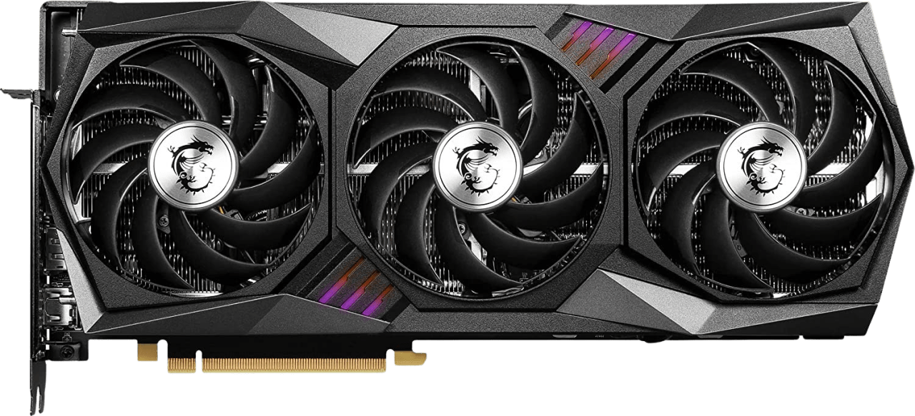 Black MSI GeForce RTX™ 3070 Ti Gaming X Trio 8G Graphics Card.1