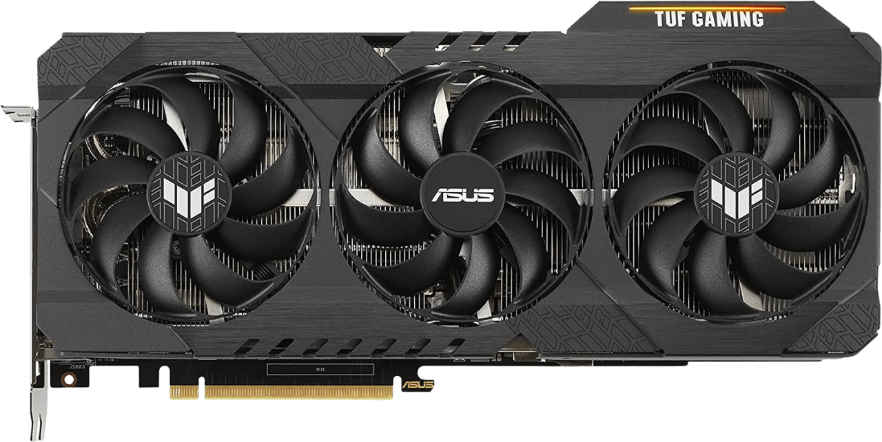 Black Asus TUF Gaming GeForce RTX™ 3080 Ti OC Graphics Card.1