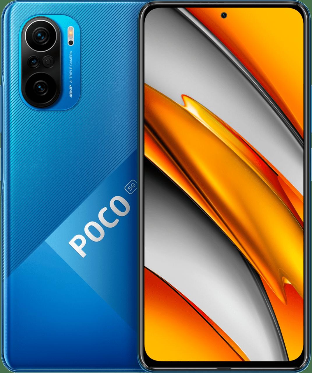Deep Ocean Blue Xiaomi Smartphone Poco F3 - 128GB - Dual SIM.1
