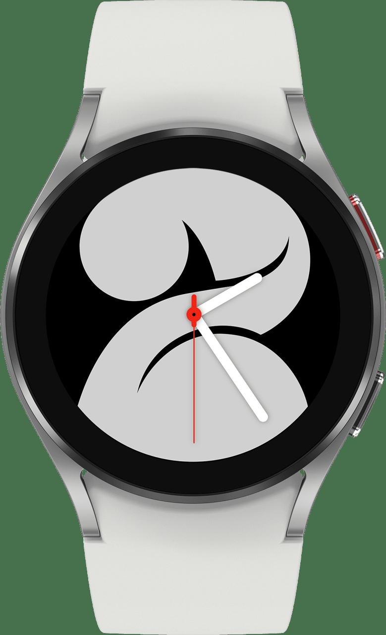 Silver Samsung Galaxy Watch4 LTE, 40mm.2