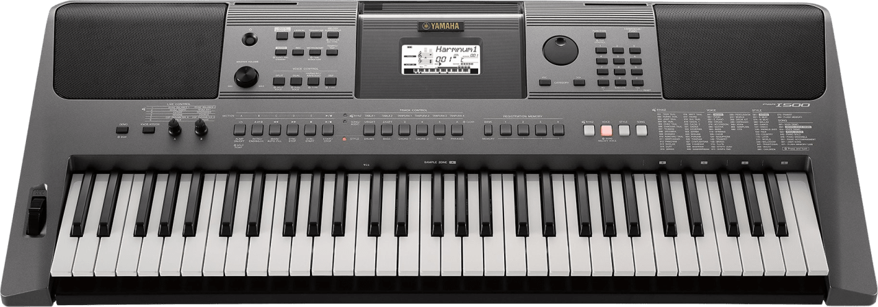 Schwarz Yamaha PSR-i500 Tragbares Keyboard mit 61 Tasten.4