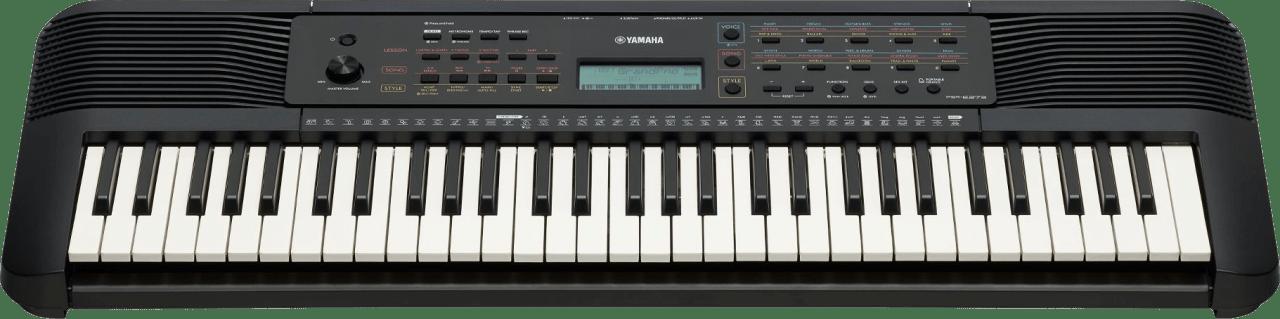 Negro Piano digital portátil Yamaha PSR-E273 de 61 teclas.3