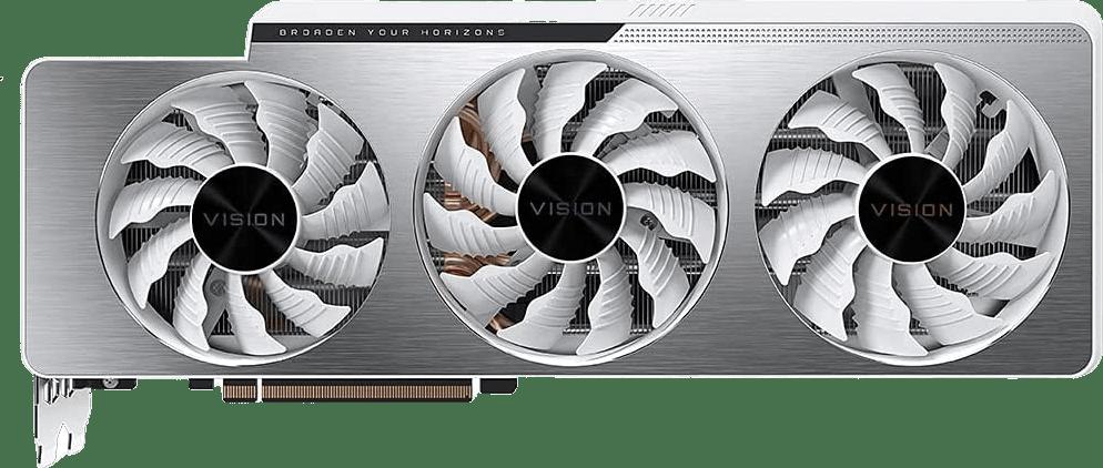 Black Gigabyte RTX 3070 TI VISION OC 8G Graphics Card.1
