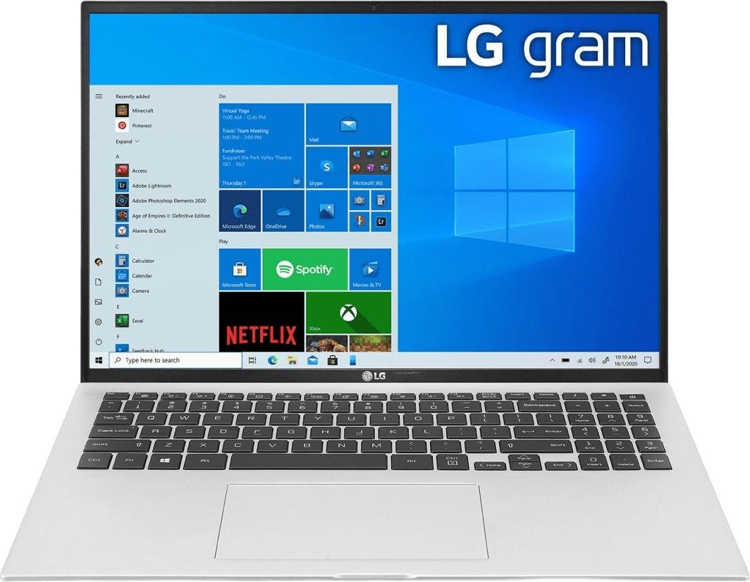 Silber LG gram 16 Notebook - Intel® Core™ i7-1165G7 - 16GB - 512GB SSD - Intel® Iris® Xe Graphics.1