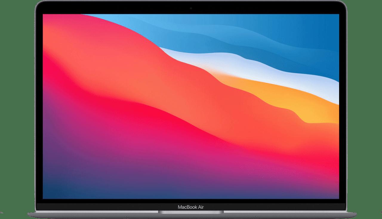 Space Grey Apple MacBook Air (Late 2020) - Spanish (QWERTY) Laptop - Apple M1 - 16GB - 512GB SSD - Apple Integrated 8-core GPU.1
