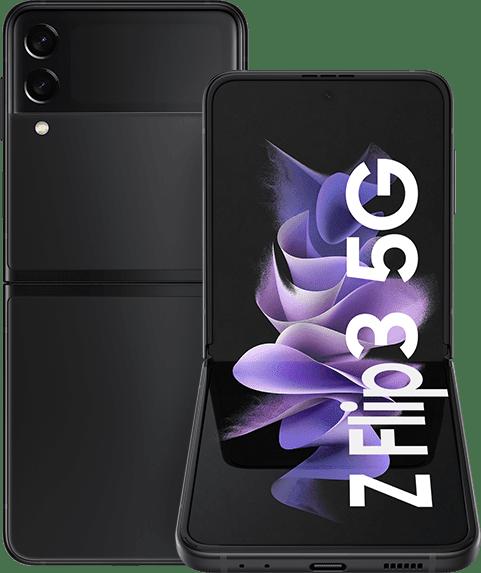 Negro Samsung Smartphone Galaxy Flip 3 - 128GB - Dual Sim.1