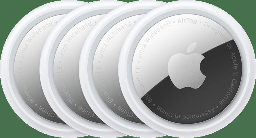 White Apple AirTag (4 Pack).1