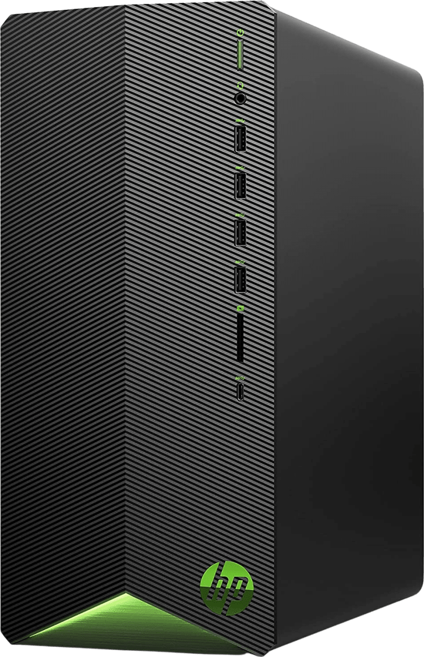 Schwarz HP Pavilion TG01-2005ng - Gaming Mini PC - AMD Ryzen™ 7 5700G - 16GB - 512GB SSD + 1TB HDD - NVIDIA® GeForce® RTX 3060 Ti.1