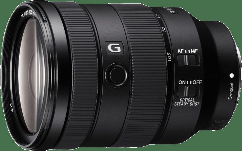 Black Sony FE 24-105mm F4 G OSS Lens.1
