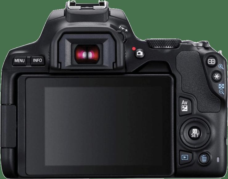 Black Canon EOS 250D System Camera + Lens Kit (EF-S 18-55mm).3