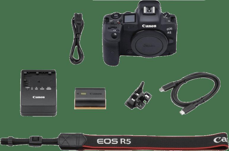 Black Canon EOS R5 (Body) System Camera.2