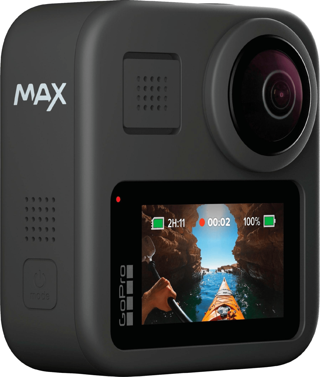 Black GoPro MAX Action Camera.1
