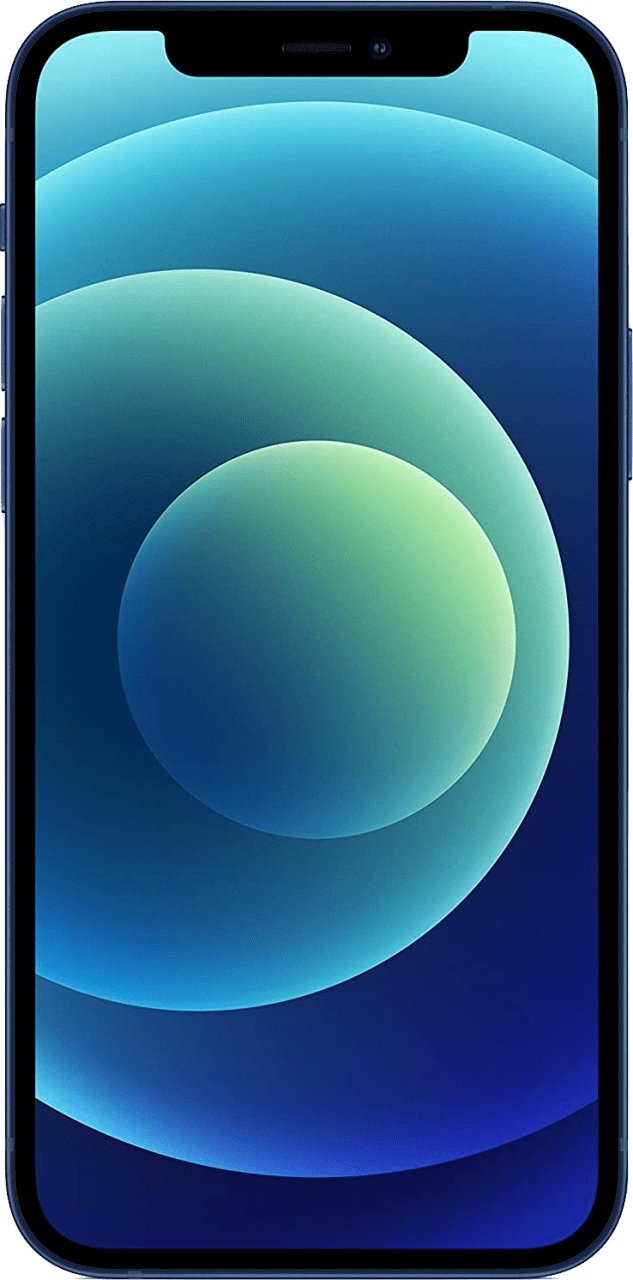 Blue Apple iPhone 12 - 128GB - Dual SIM.4