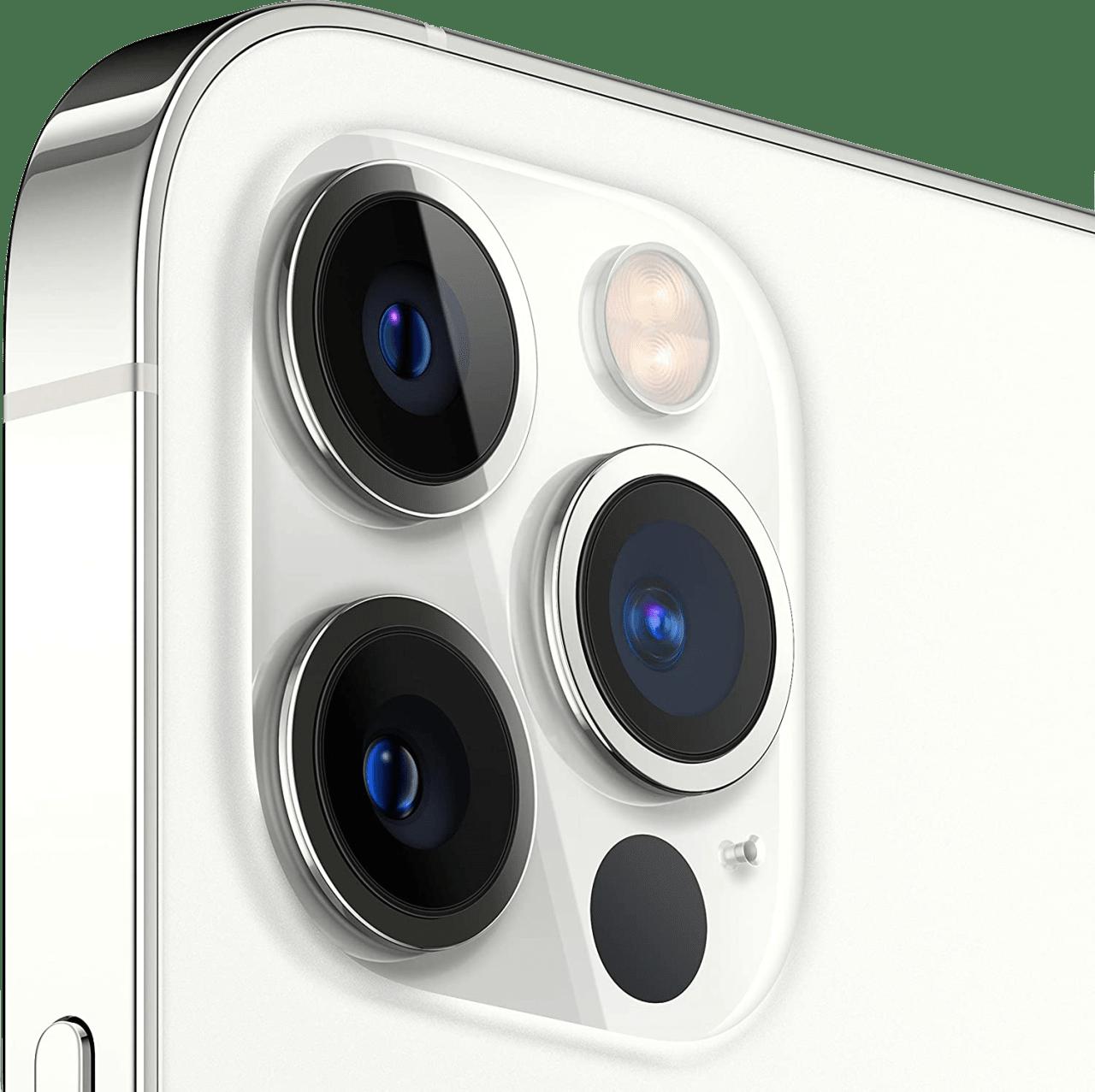 Silver Apple iPhone 12 Pro Max - 128GB - Dual Sim.4