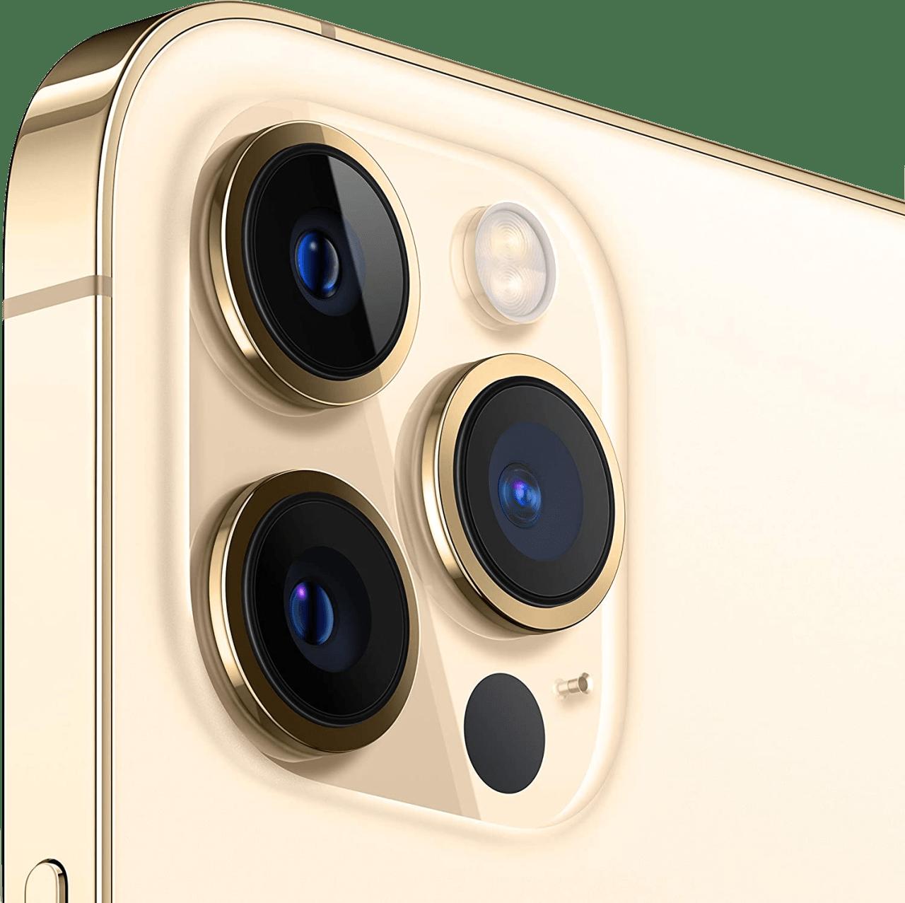 Gold Apple iPhone 12 Pro Max - 128GB - Dual Sim.2