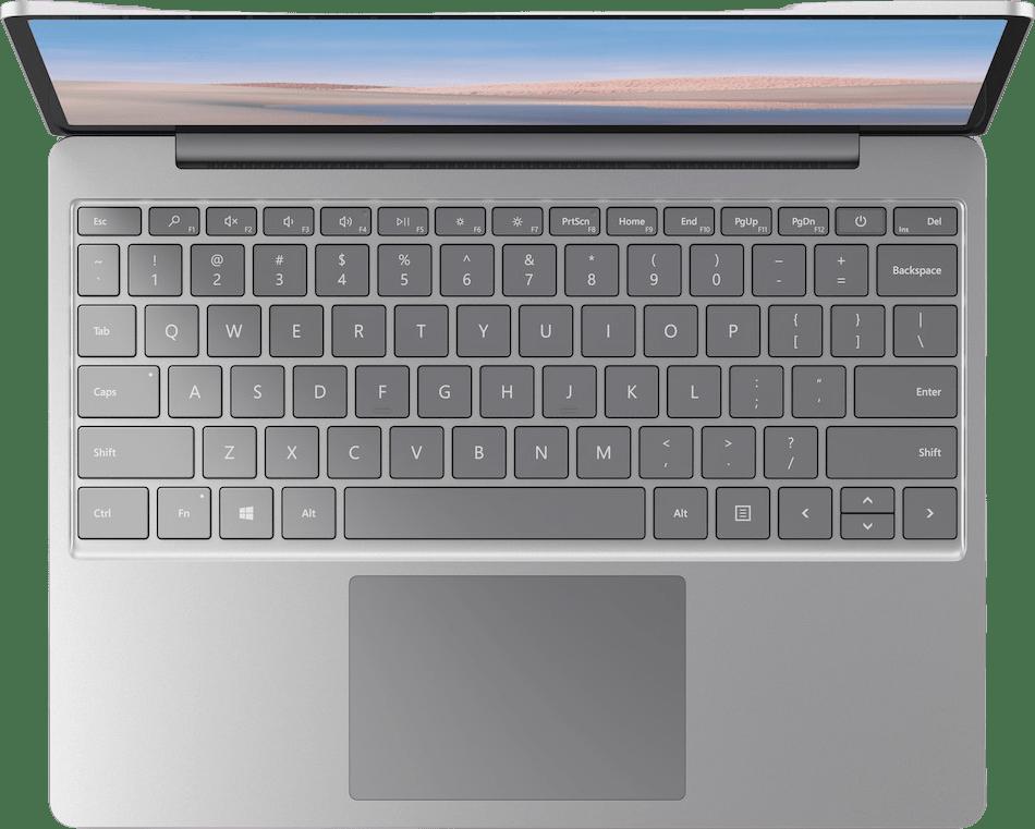 Platinum Microsoft Surface Laptop Go - Intel® Core™ i5-1035G1 - 8GB - 128GB SSD - Intel® Iris™ Plus Graphics.3
