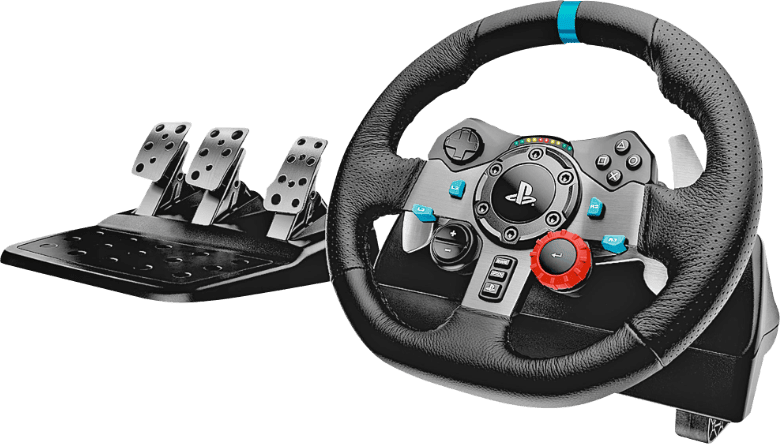 Black Logitech G29 Driving Force Racing.1
