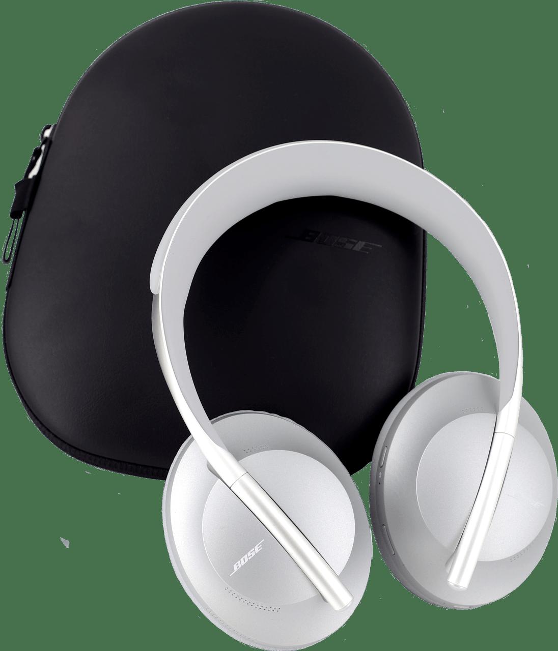 Silver Bose 700 Over-ear Bluetooth Headphones.3