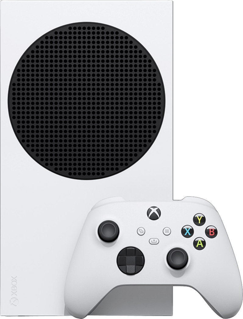 White Microsoft Xbox Series S.2