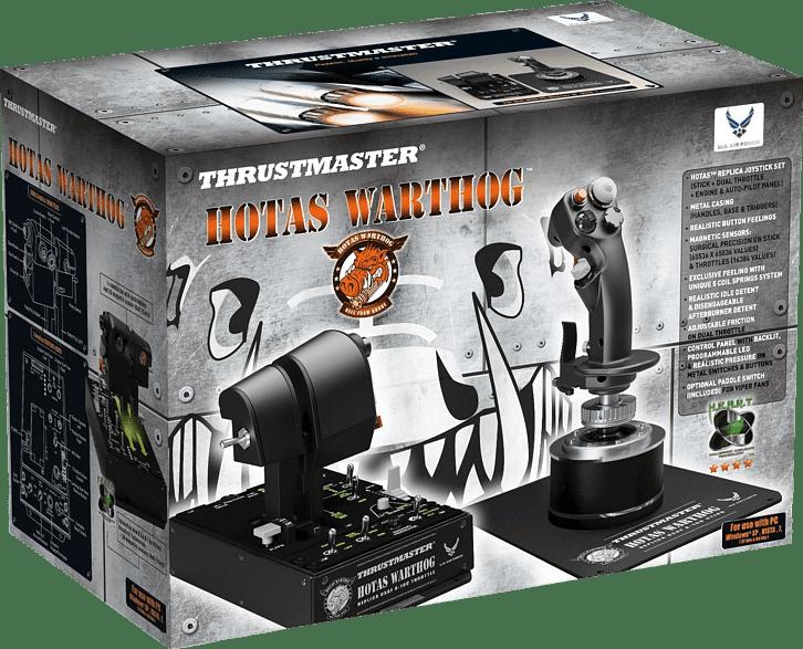 Black Thrustmaster Hotas Warthog.2