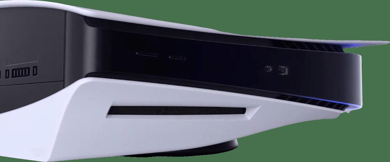 White Sony PlayStation 5.3