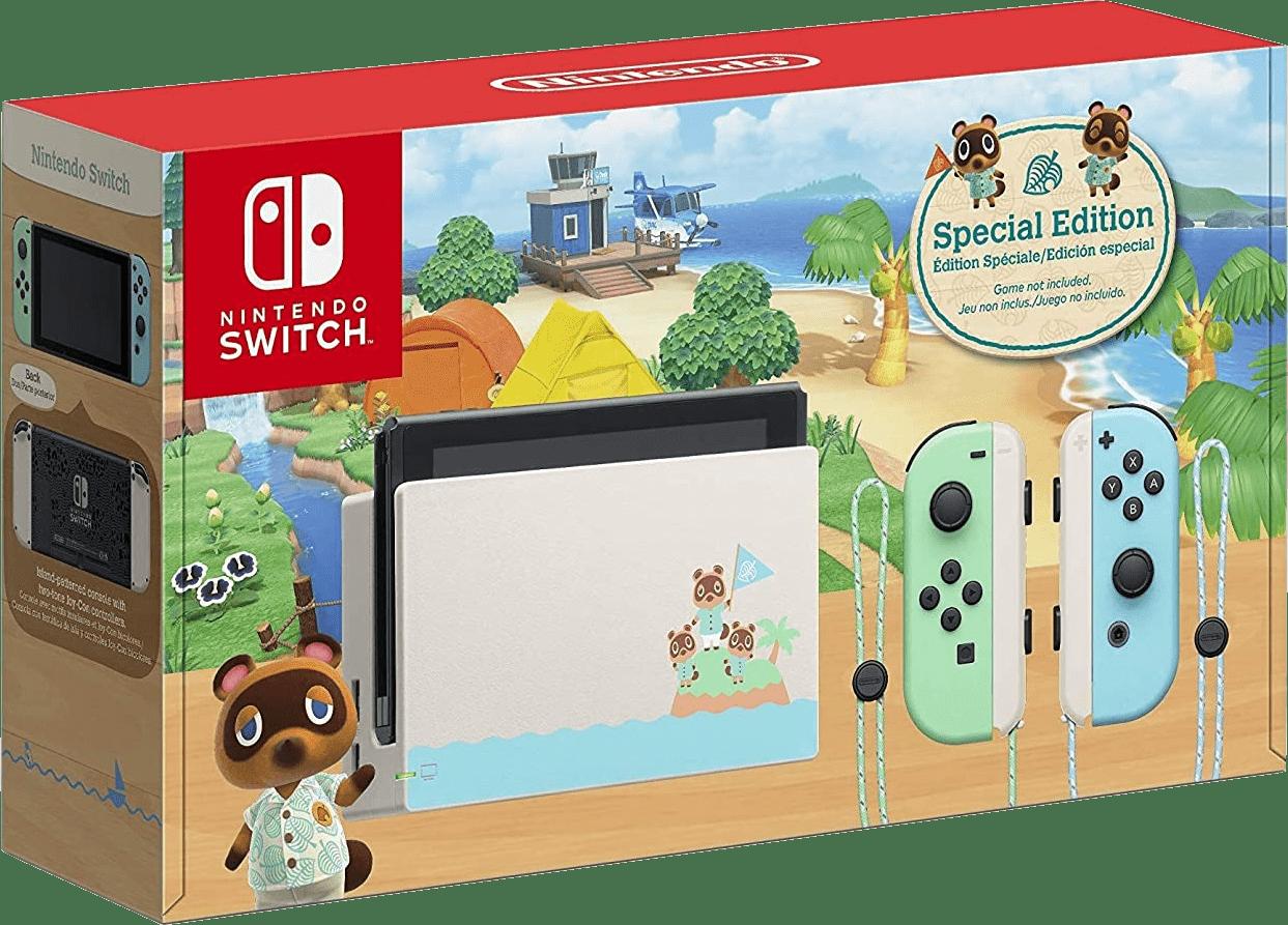 Multicolored Nintendo Switch - 32GB (2019 Edition).2