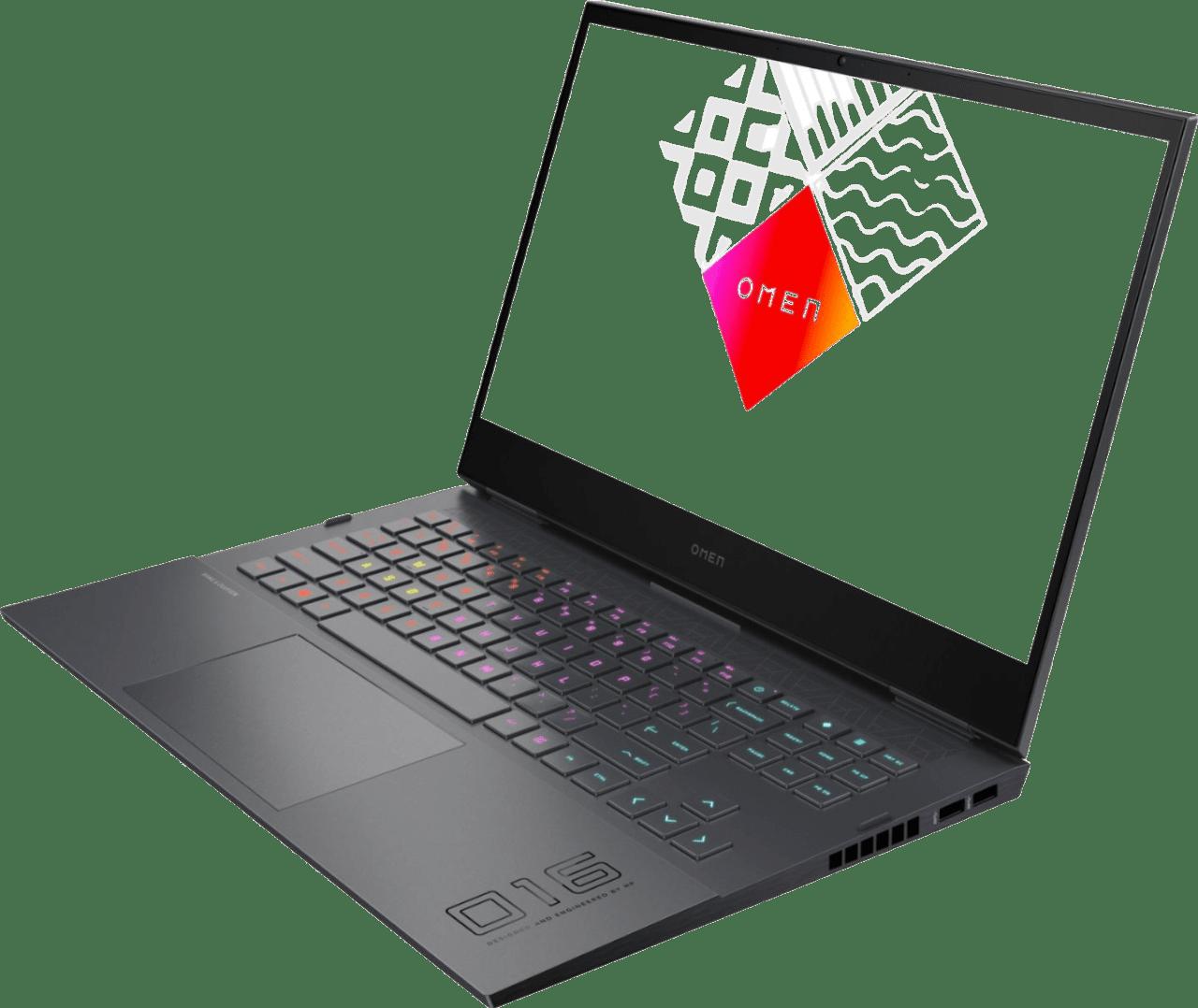 Black HP OMEN - Advantage Edition Laptop - AMD Ryzen 7 - 16GB - AMD Radeon™ RX 6600M - 1TB SSD.2