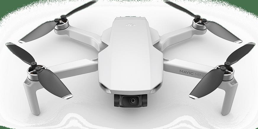 White DJI Mavic Mini Fly More Combo Drone.1